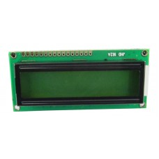 16x2 Character LCD Display (Yellow Green)